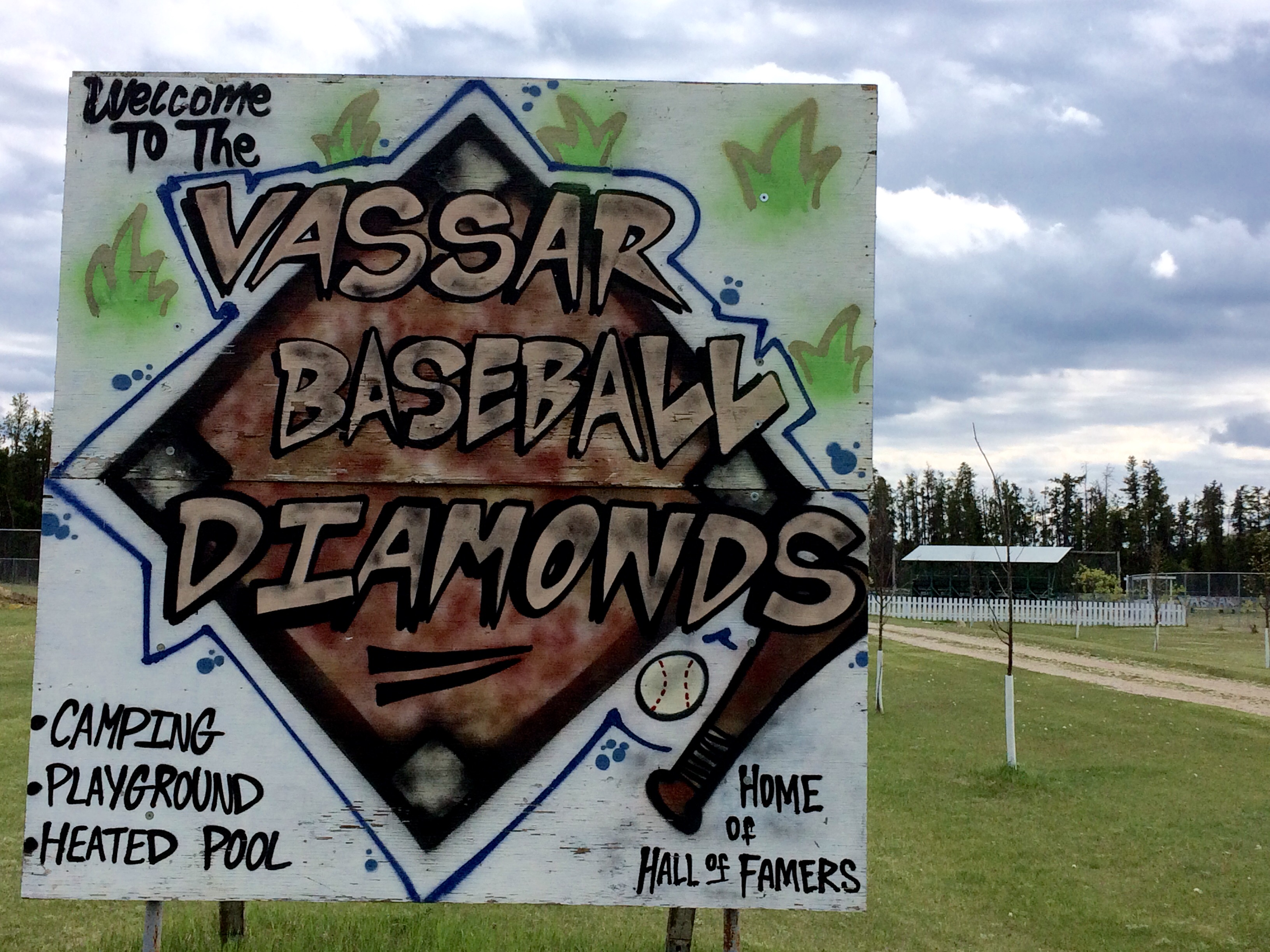 vassar baseball diamonds