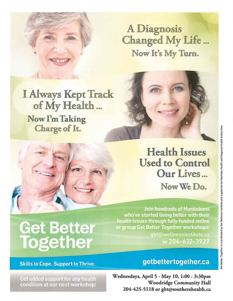 Click here to view details on the Southern Health Get Better Together Workshop