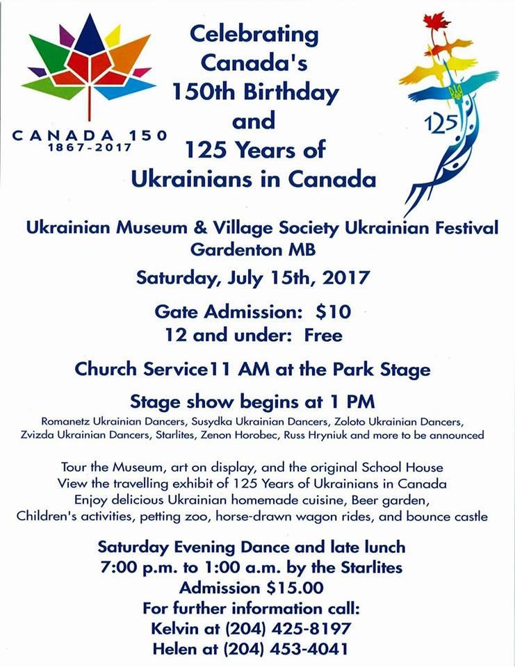 Gardenton Ukrainian Festival – Sunrise Corner