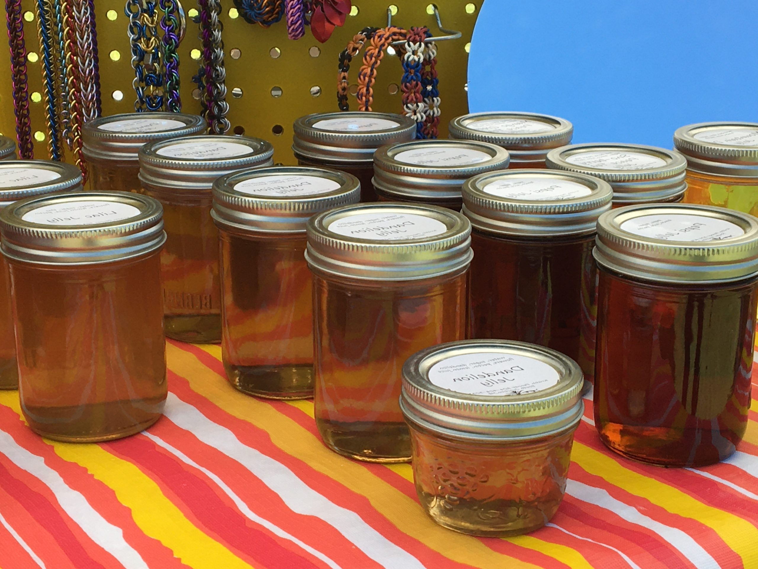 homemade preserves at Southeast Farmer's Market